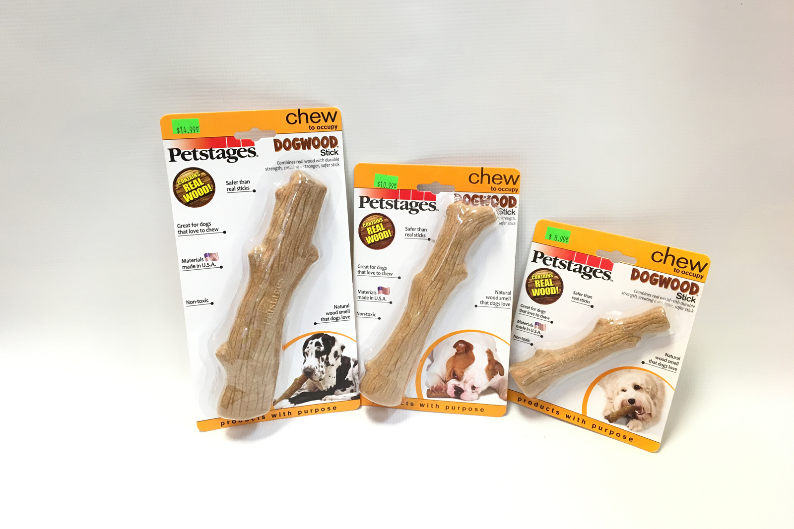 Spartanburg, South Carolina, Greenville, Dog, Pets, Dog Food, Pet Supplies, Pet Food, Petstages Dogwood Stick, 4 Paws